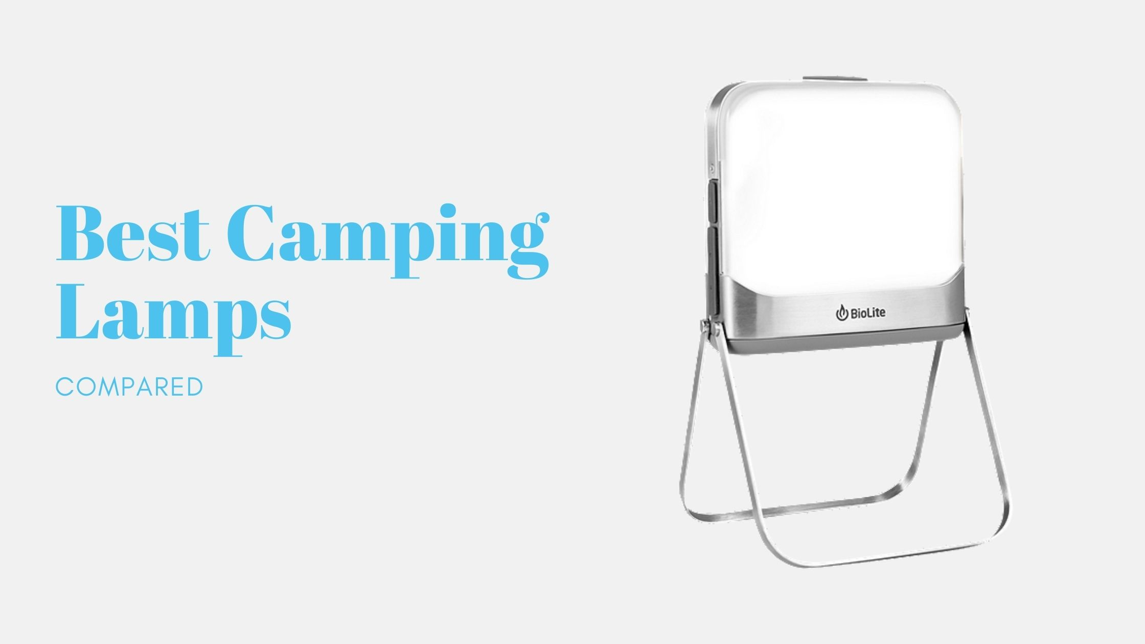 5 Best Camping Lamps Compared