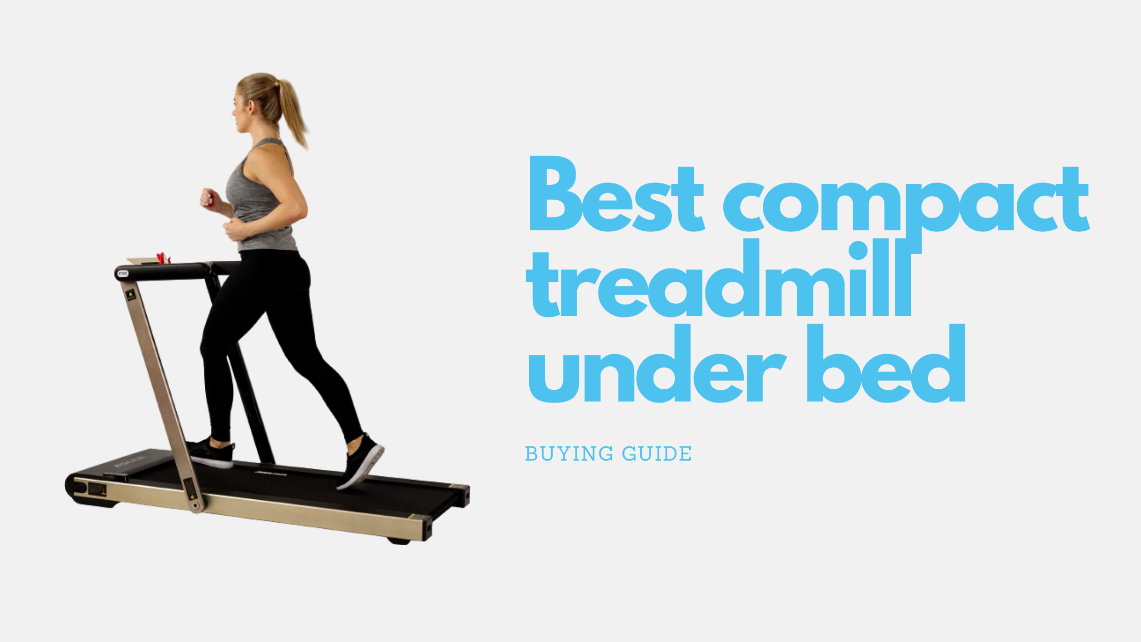 13 Best compact treadmill under bed