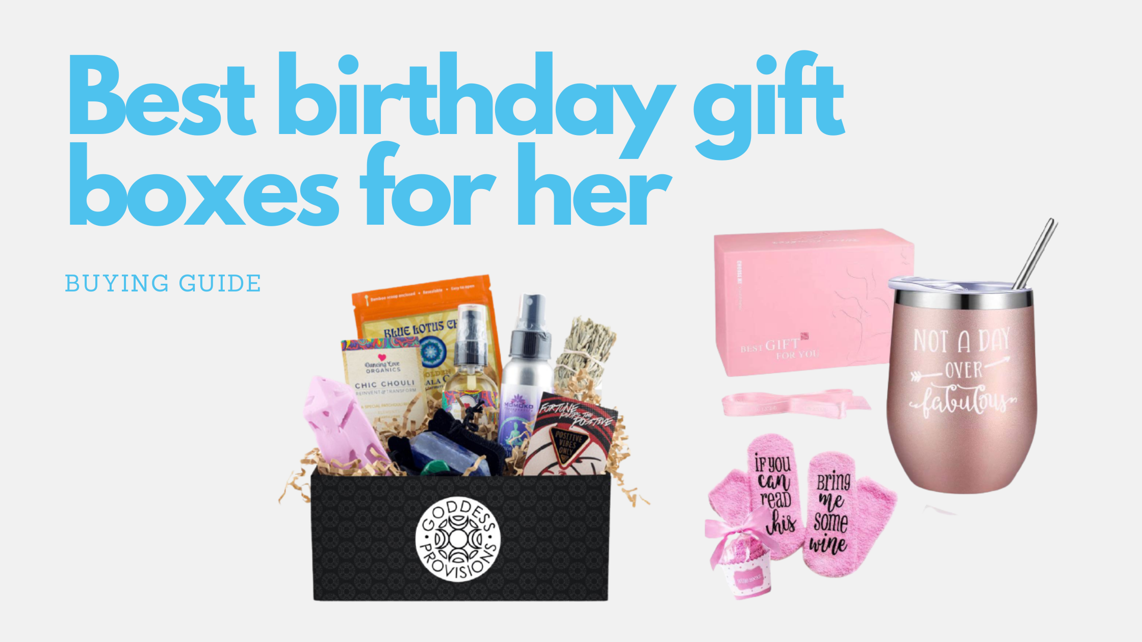 10 Best birthday gift boxes for her